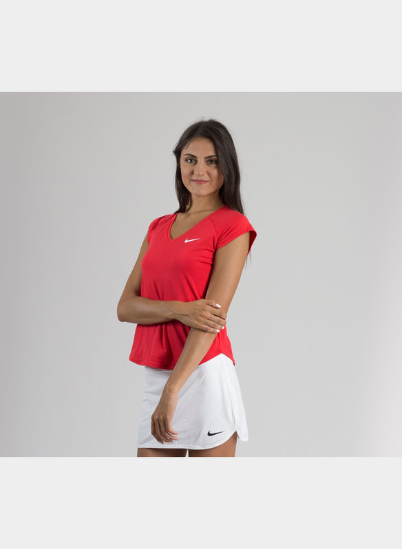 MAGLIA NIKECOURT PURE , 667RED, medium