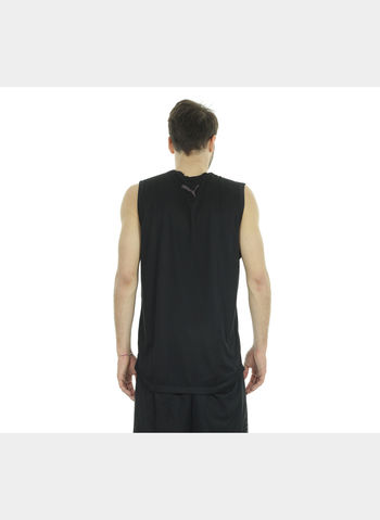 SMANICATA ACTIVE TRAINING SLEEVELESS UOMO, 001BLK, small