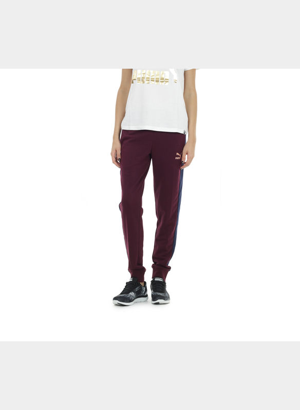 PANTALONI TUTA T7 , 005BORDEAUX, medium