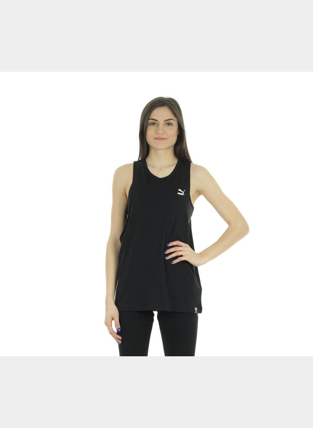 TANK-TOP ARCHIVE LOGO DONNA, 001BLK, large