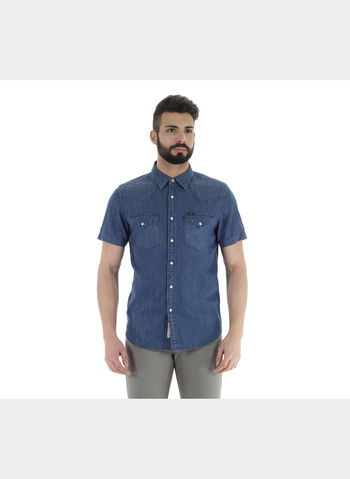 CAMICIA WESTERN SHIRT , MY13 STONE, small