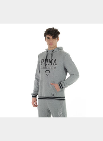 FELPA ATHLETIC HOODED SWEAT TR , 003GREY, small