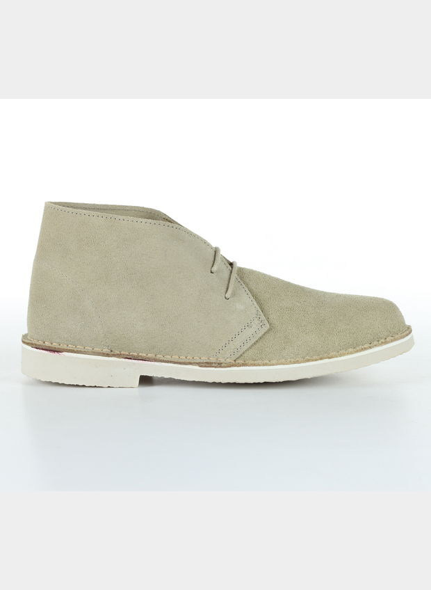 POLACCHINO SUEDE MID UOMO, 120BEIGE, large