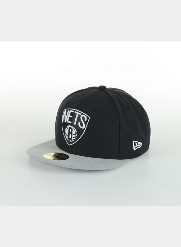CAPPELLO NBA BASIC BROOKLYN NETS, BLKGREY, medium