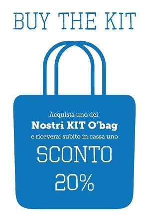 Promo O Bag | Kit borse al 20%
