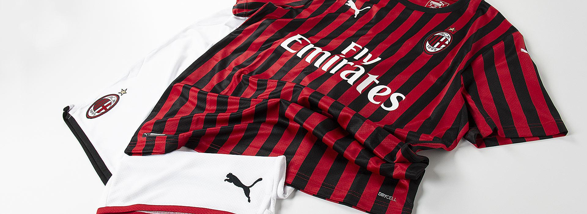 Lancio Puma maglia MILAN