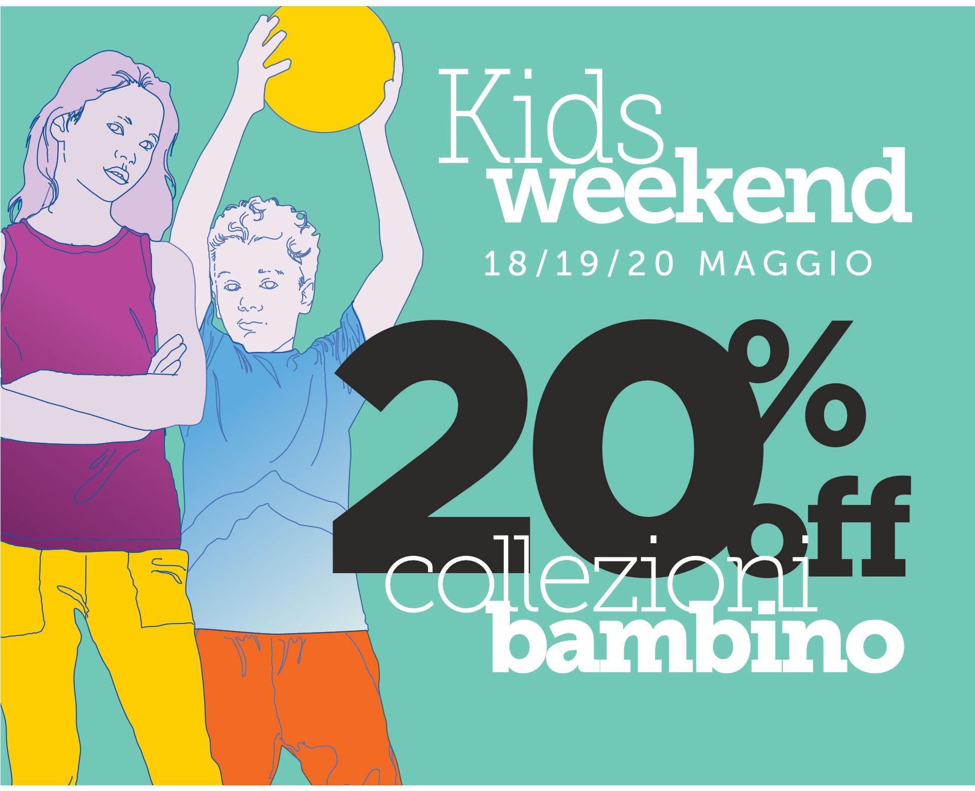 Promo Bambini | Abbigliamento Primavera/Estate 2018 al 20% di sconto