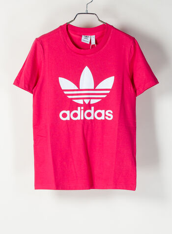 T-SHIRT TREFOIL, FUXIA, small