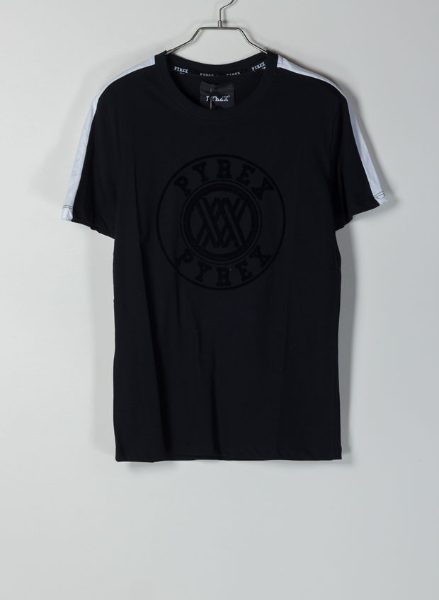 T-SHIRT LOGO, NERO, large