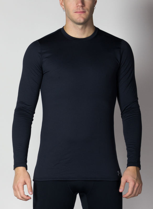 MAGLIA COLDGEAR FITTED, BLK, medium