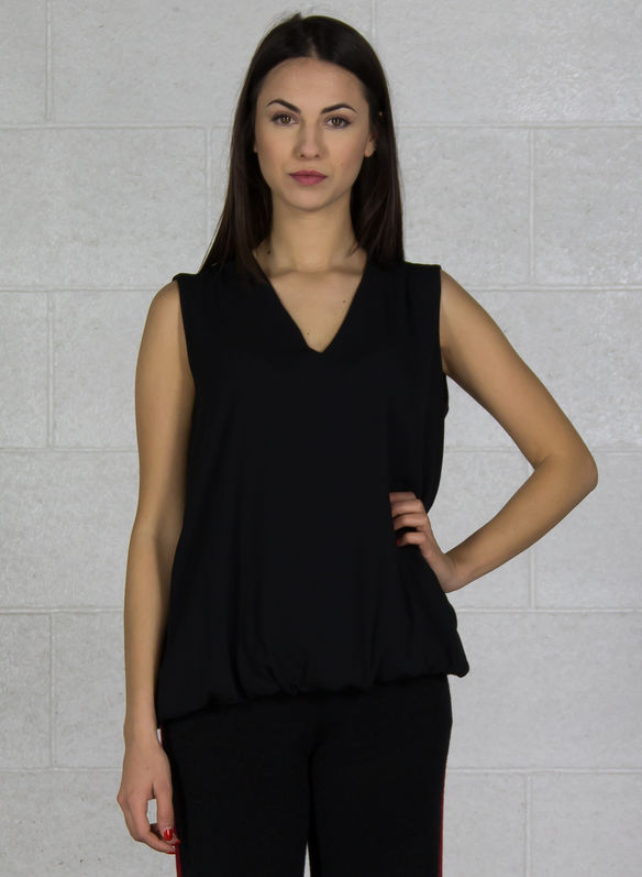 BLUSA GIROMANICA, NERO, medium