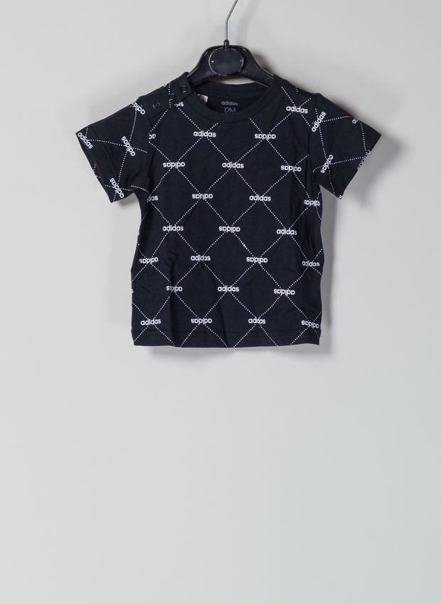 T-SHIRT PATTERN INFANT, BLK, large