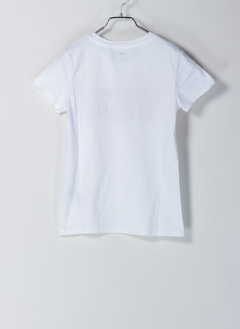 T-SHIRT THE PERFECT GRAPHIC TEE, 0053WHT, small