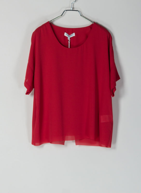 BLUSA QUENAIL, RED, medium