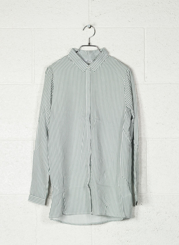CAMICIA GLORY, CLOUD GREEN, large