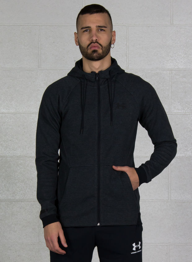 FELPA UNSTOPPABLE DOUBLE KNIT FULL ZIP, 001BLK, large