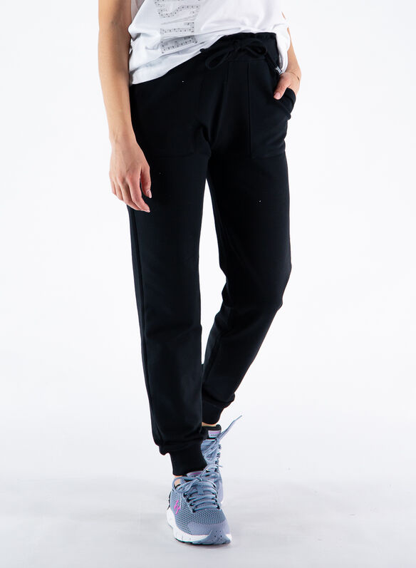 PANTALONE JOGGER CITY, 2000BLK, medium