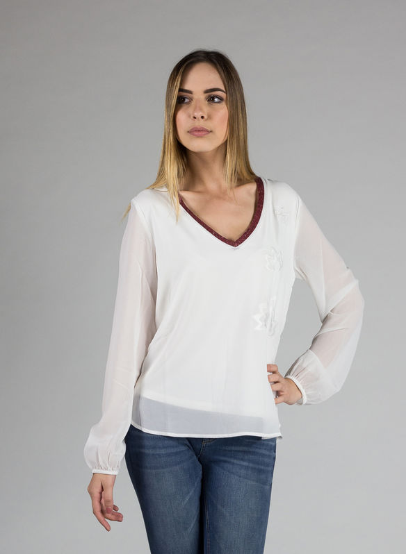 CAMICIA DENIS, 1000WHT, medium