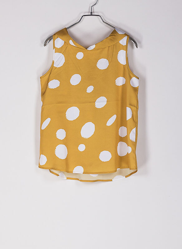 BLUSA POIS SATIN, 57OCRAWHT, medium