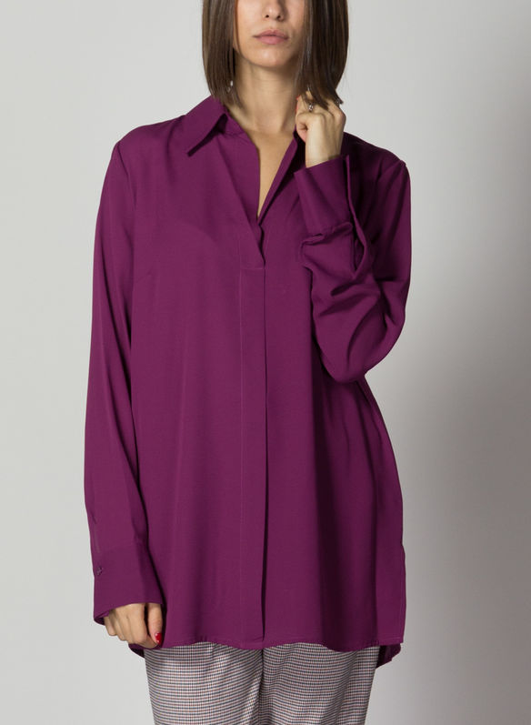 BLUSA HARROUCH, GRAPE, medium