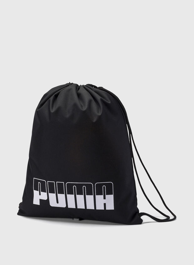 GYM SACK PLUS LOGO, 01BLK, large