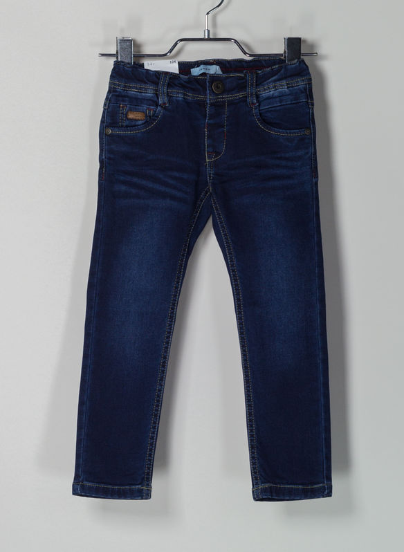 JEANS SWEAT DENIM REGULAR FIT, DENIM, medium