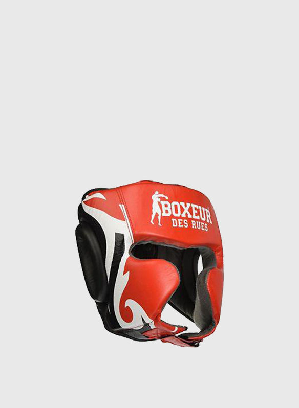 CASCO BOXE TRIBAL, REDWHT, medium