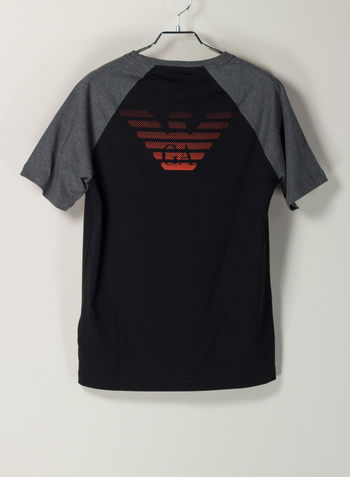 T-SHIRT SEVEN COLORS, 1201BLK, small