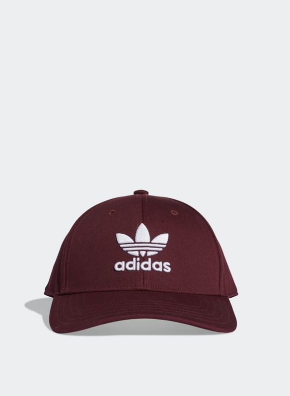 CAPPELLO TREFOIL BASEBALL, BORDO, medium