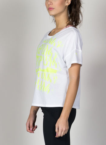 T-SHIRT TRAINING HIT FEEL IT, 05WHTLIME, small
