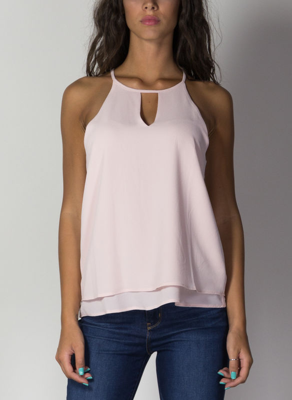 TOP MARIANA, ROSE SMOKE, medium