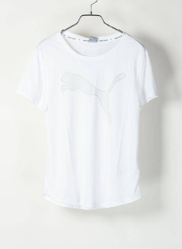 T-SHIRT EVOSTRIPE, 02WHT, medium