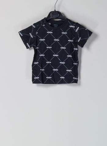 T-SHIRT PATTERN INFANT, BLK, small