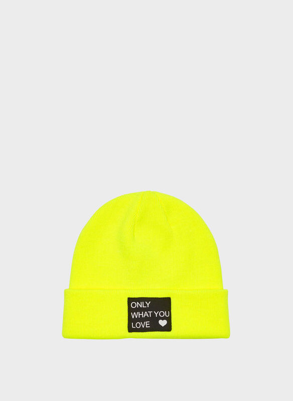 CAPPELLO MADISON, YELLOW FLUO, medium