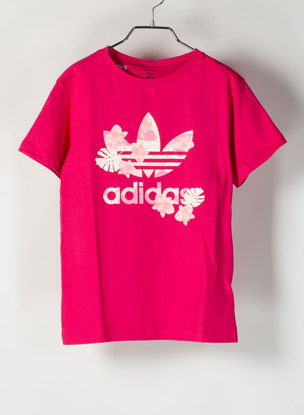 T-SHIRT ORIGINALS RAGAZZA, FUXIA, large