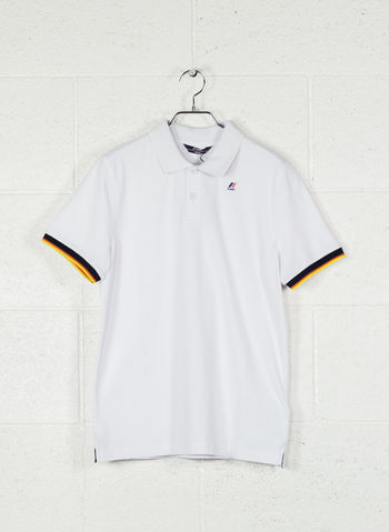 POLO VINCENT CONTRAST, K01WHT, small