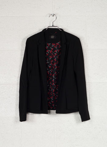 GIACCA BLAZER MICHELLE LISA, BLACK, small