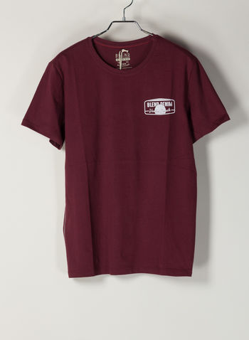 T-SHIRT STAMPA, 73839BORDEAUX, small