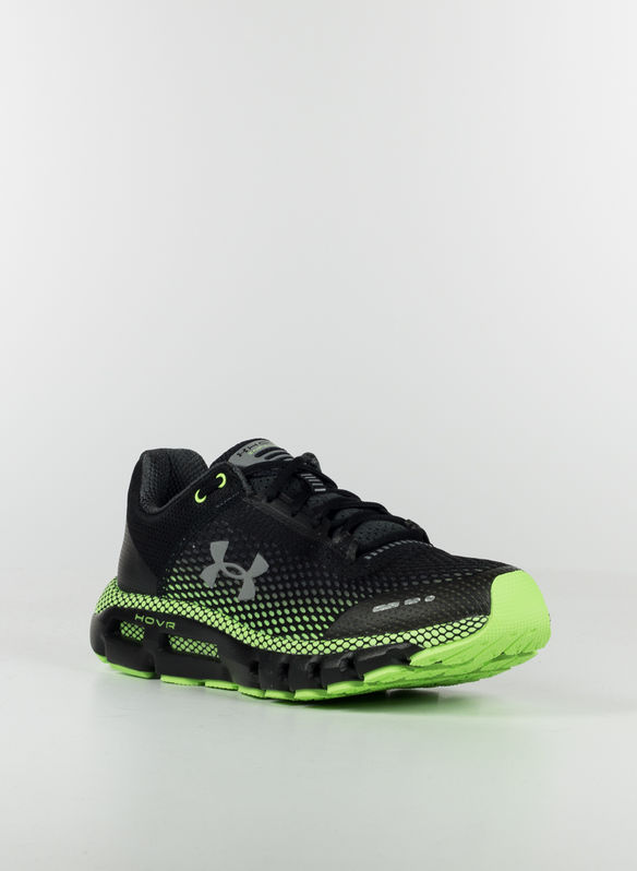 SCARPA INFINITE RUNNING UA HOVR™, BLKLIME, medium