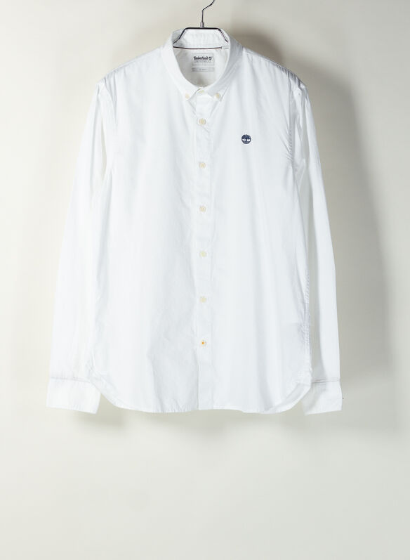 CAMICIA OXFORD, A94WHT, medium