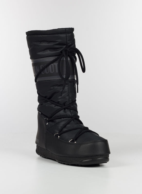MOON BOOT HIGH NYLON, 001BLK, medium