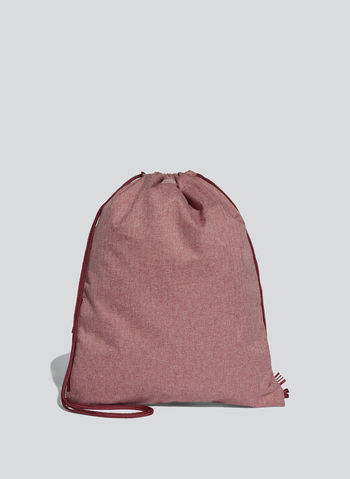 GYM SACK ORIGINALS TRIFOGLIO, BORDEAUX, small