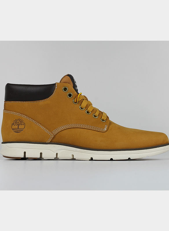 SCARPA BRADSTREET LEATHER CHUKKA UOMO, YELLOW, medium