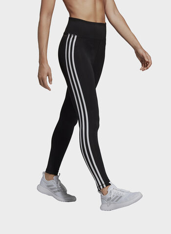 TIGHT LUNGHI DESIGN 2 MOVE 3-STRIPES HIGH-RISE, BLK, small