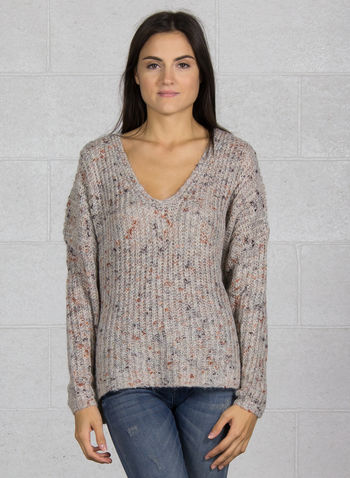 MAGLIONE HANNI, LIGHT GREY, small