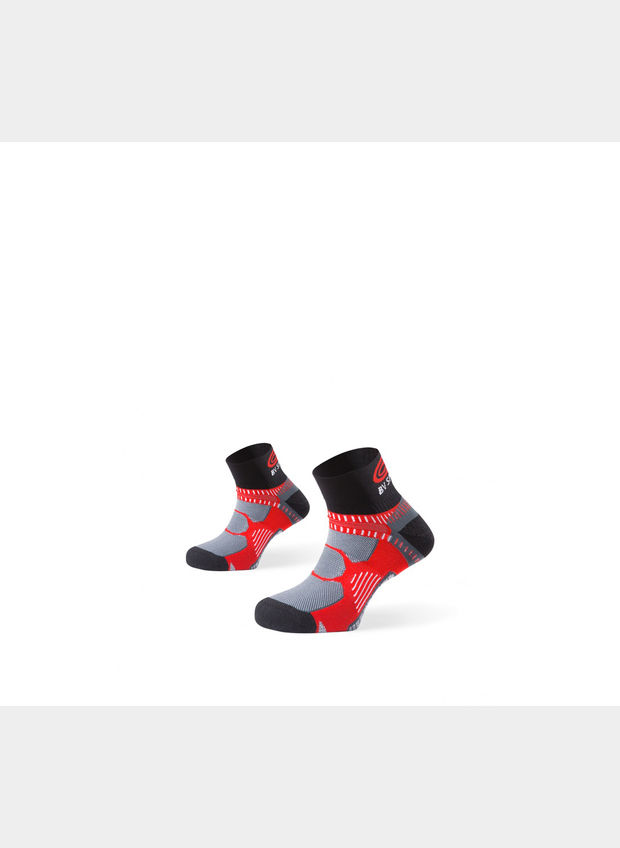 CALZA SOCKS RUNNING - BLACK, BLK, large
