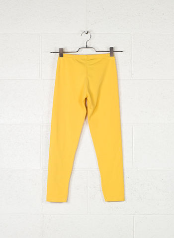 LEGGINGS BIG LOGO, GIALLO, small