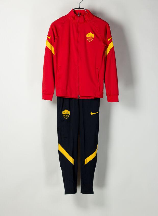 NIKE TUTA UFFICIALE A.S. ROMA 2020-21 RAGAZZO giallo, nero, rosso ...