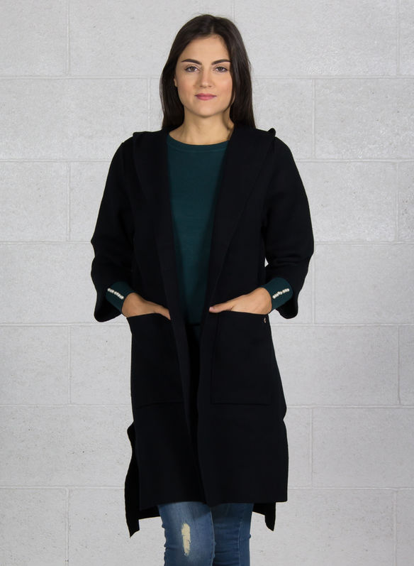 CAPPOTTO APERTO LIGHT, NERO, medium