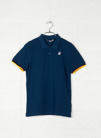 POLO VINCENT CONTRAST, D33OTTANIO, small